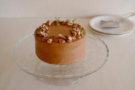 チョコレートショートケーキ
