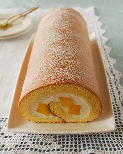 スフレロールケーキ(マンゴー)