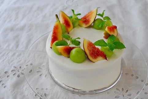 ケーキ、冷たいお菓子