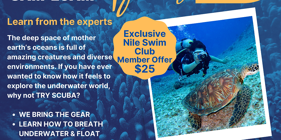 Try Scuba!(Members Only Offer)