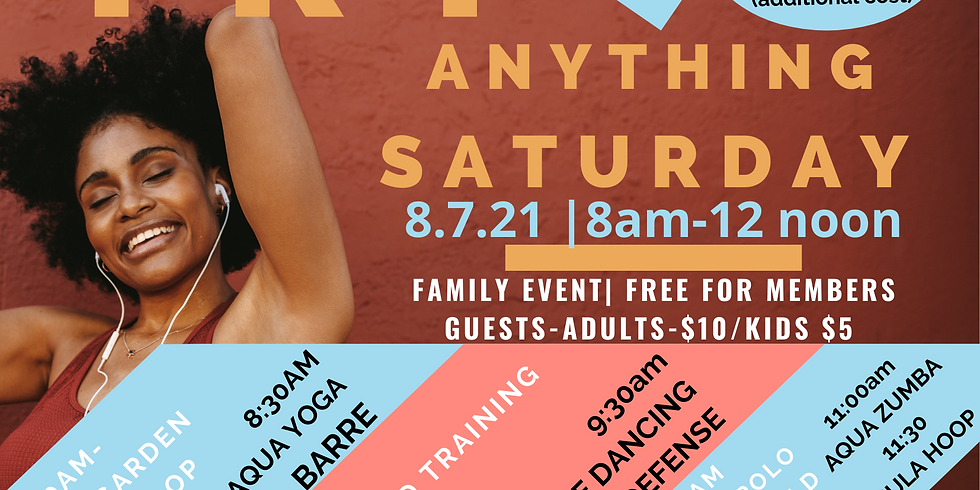 Try Anything Saturday