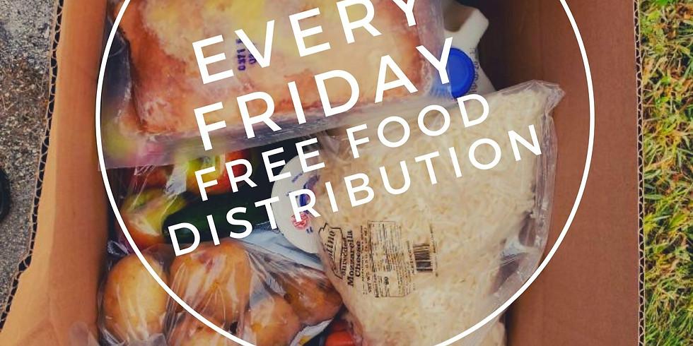 Friday FREE FOOD Distribution