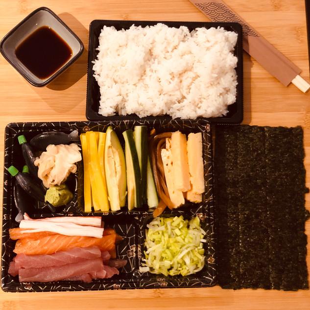 Sushi Temaki Party