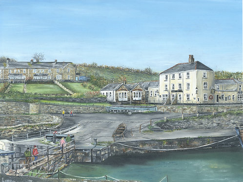 The Pier House, Charlestown Harbour