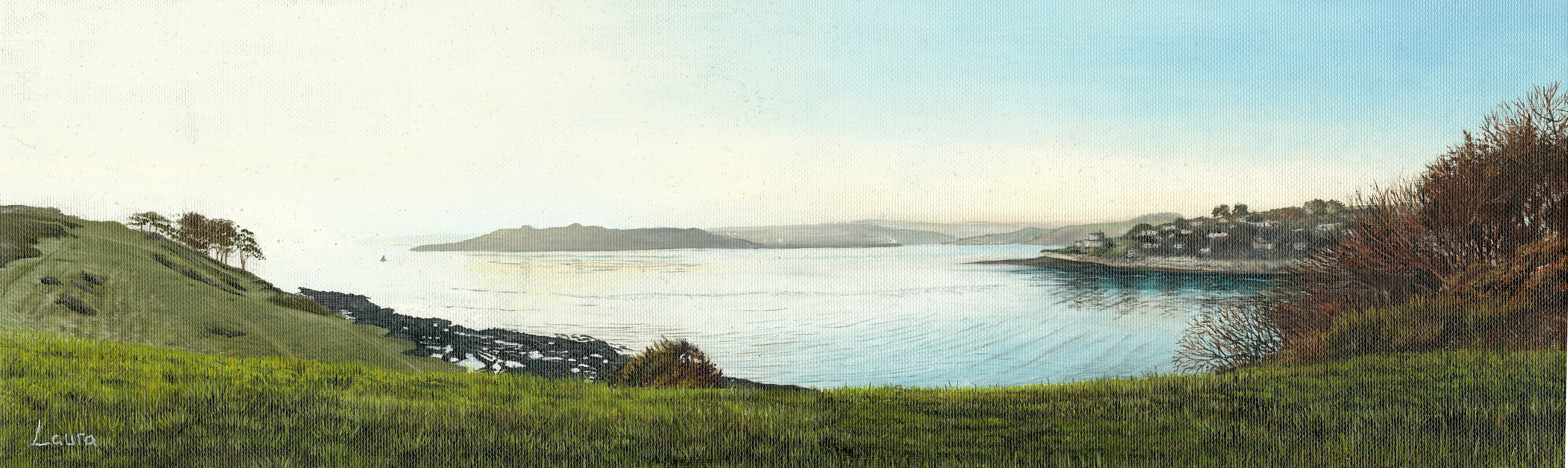 Looking out towards Pendennis Point