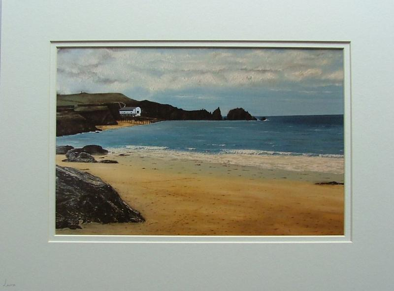 Mother Ivey's Bay mixed media print