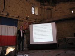 réunion de présentation 01/11/2014