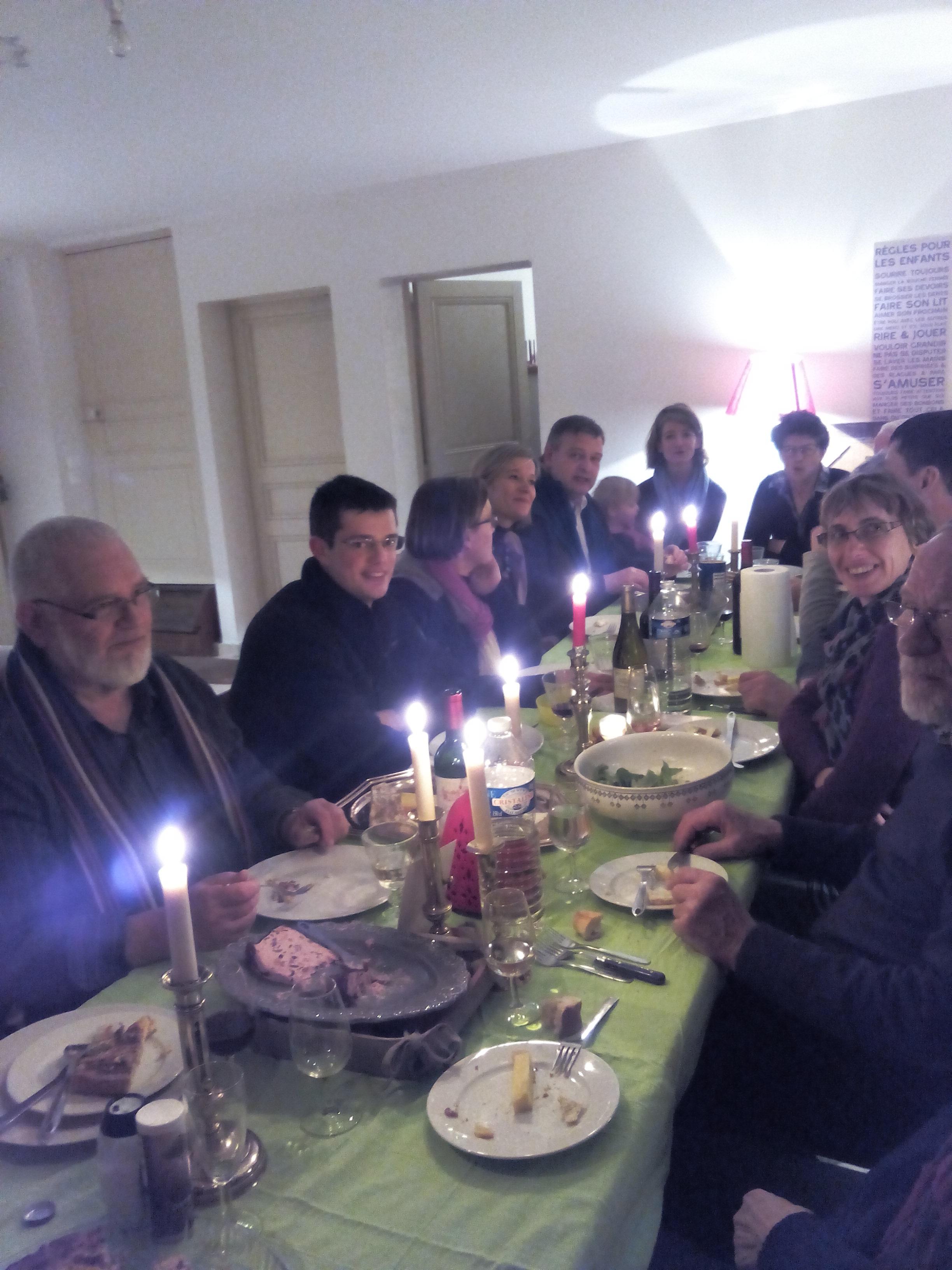 dîner de l'association 14/02/2015