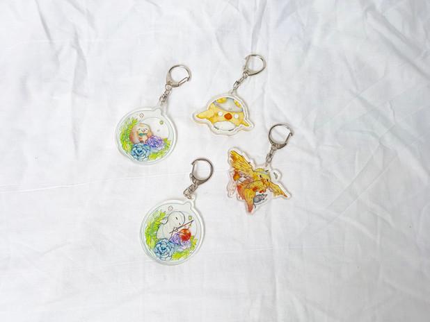 Doujima 2017 Keychain