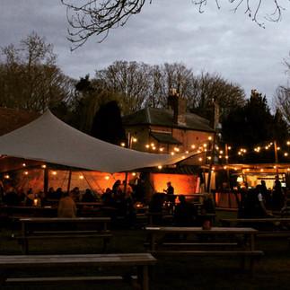 The Pembroke Arms beer garden