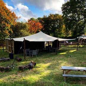 10.5x7.5m Stretch Tent RSPB