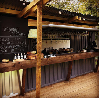 """Container bar 'The Tap Room"""""""