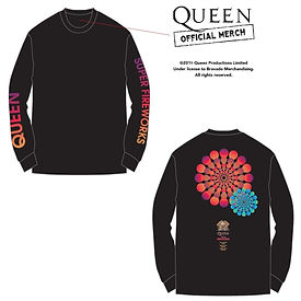 単品長袖Queen Super Fireworks LS Tee_approve