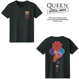 単品半袖Queen Super Fireworks LS Tee_approve