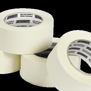 Fita Crepe é ideal para pequenos trabalhos domésticos e deescritórios, e para fechamento de pacotes leves. Podendo ser usada parapinturas domésticas de pequenas proporções. O produto deve ser previamente testado antes de sua aplicação final.