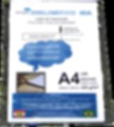 Papéis desenvolvidos para impressão digital de pequenosformatos voltados para a área de brindes promocionais, com gramatura de 125gr/m2 e revetimento especial proporciona resultados fantásticos com cores vibrantes e pretos profundos dando vida a seus produtos.