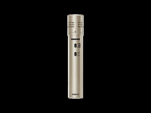 Shure KSM137 Cardioid Instrument Microphone