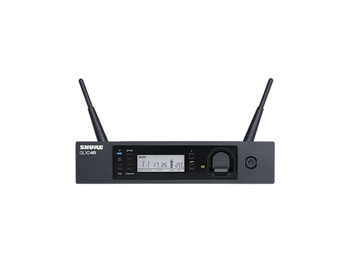 Shure GLXD4R Rack Mount Receiver for GLX-D Advanced Digital Wireless System
