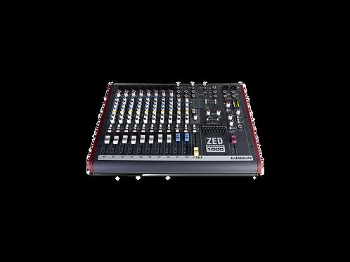 Allen & Heath ZED Power 1000 2x500W Powered Mixer