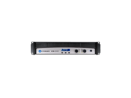 Crown CDi 2000 Two-channel, 800W @ 4Ω, 70V/140V Power Amplifier