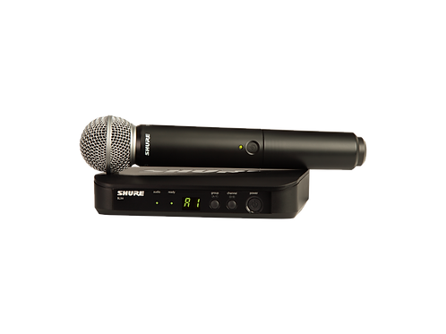 Shure BLX24/SM58 Wireless Vocal System
