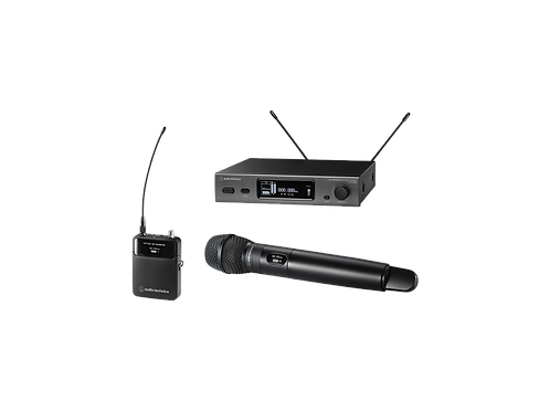Audio Technica 3000 Series Frequency-agile True Diversity UHF Wireless System