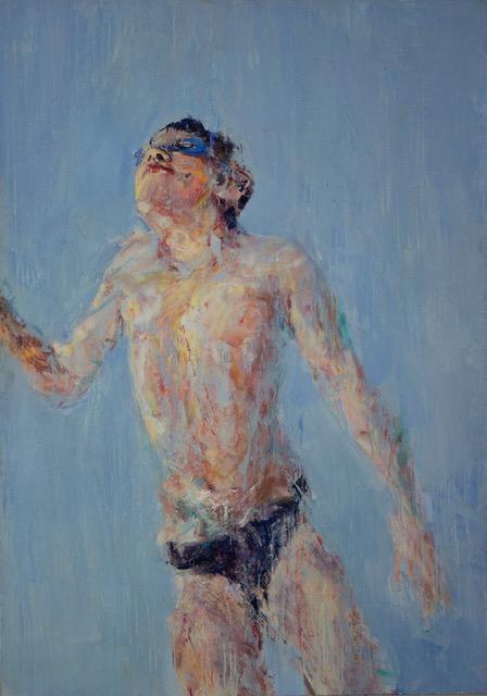 Abadie, huile sur toile, 162 x 114 cm ,