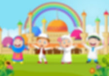 excelent-cartoon-happy-kid-muslim-with-r