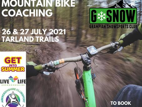 Mountain Bike Coaching!