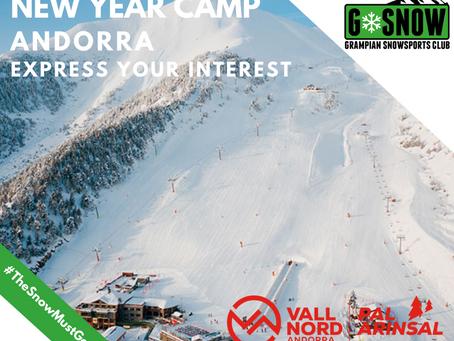 New Year Camp - Andorra