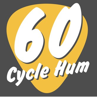 60 cycle hum guitar podcast graphic