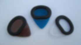 Sure Grip Guitar Picks utilizie a comfortable grip and come in three different colors.