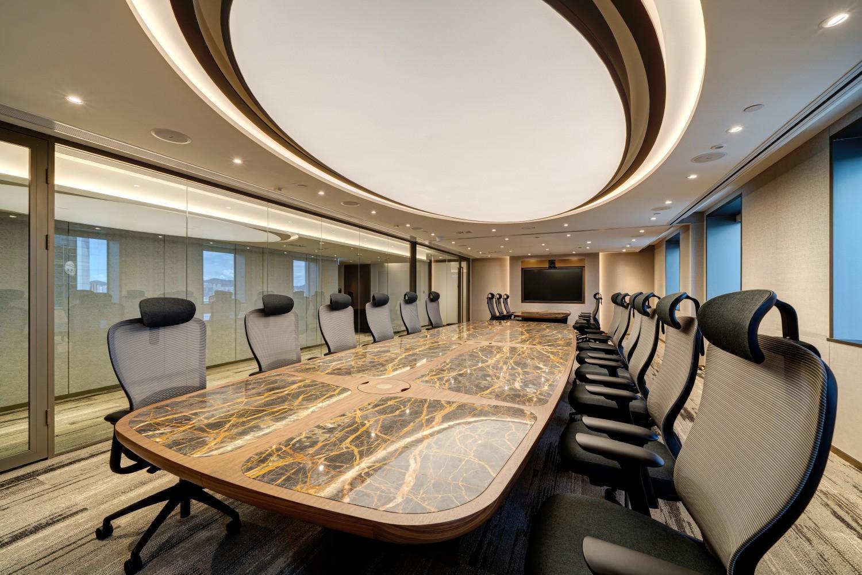 China Dili Group Hong Kong Office Interior Design & Build by YO Design
