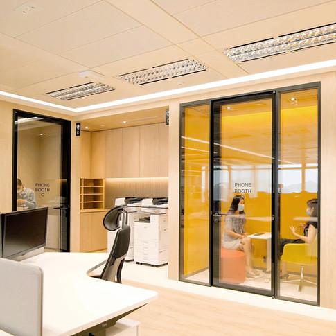 Hony Capital Hong Kong office interior design by YO Design