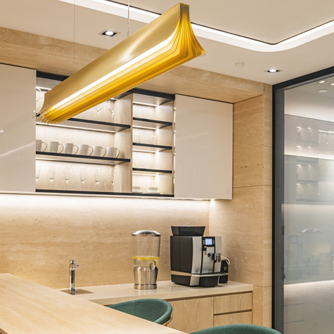 Hony Capital Hong Kong office inteior design by YO Design