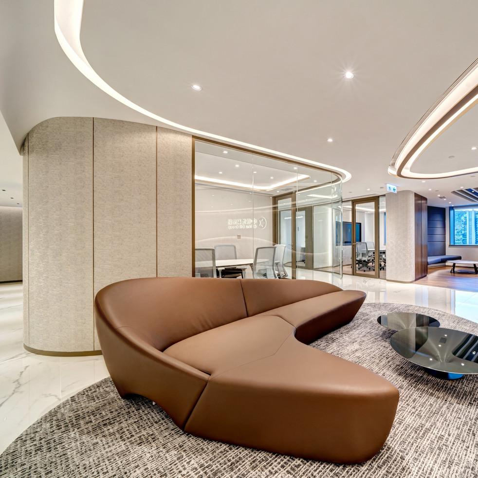 China Dili Group Hong Kong Office Design & Build by YO Design