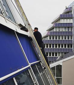 Instandsetzung Fassadenmarkisen