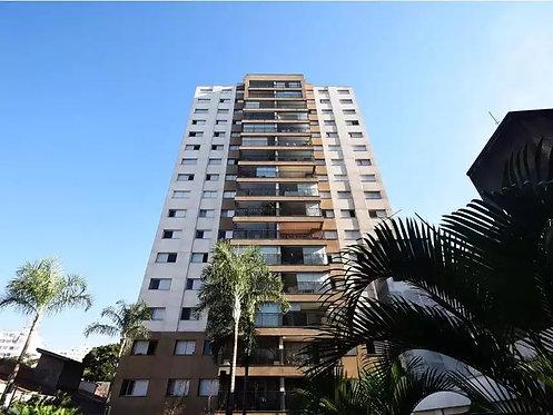 Apartamento com 101,07m² e 02 vagas na Barra Funda - São Paulo, SP