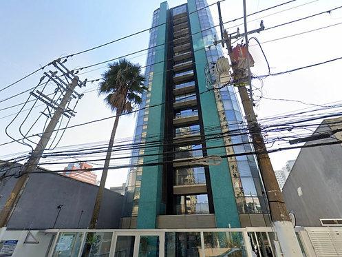 Apartamento com 42m² e 01 vaga em Moema - São Paulo, SP