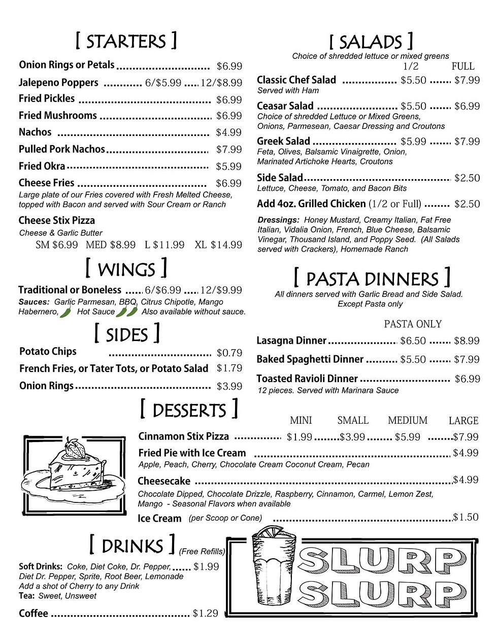 Hilltop Black Menu Compiled Page 1 19.7.