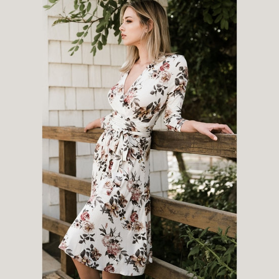 Les Ami Wrap Dress