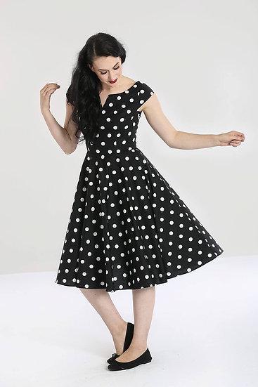 Hell Bunny Polka Swing Dress