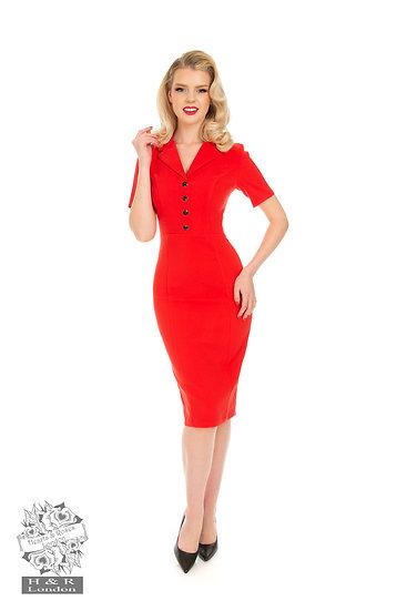 Sassy Red Wiggle Dress