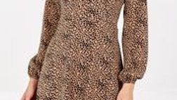 Sassy Abstract Spot Dress/Top