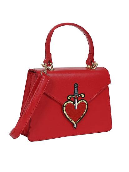 Lulu Hun Tattoo Heart Bag
