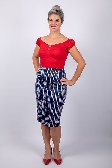 Bombshell Chic The Maria Pencil Skirt