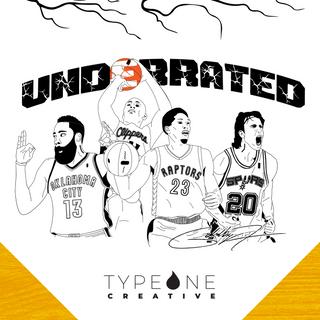 Underrated Sixth Men Merchandise Design