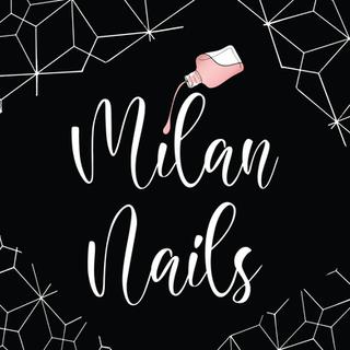 Milan Nails Logo Design