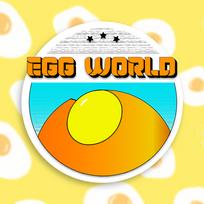 Egg World Logo (Mock Company)