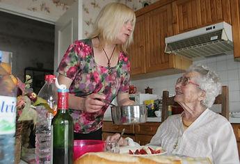 Aide à l préparation des repas, aide aux courses, aide à domicile, ménage pas cher